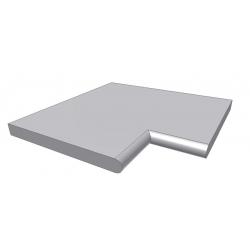 Kiruna (granit) kantfliser til firkantede pools