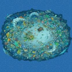 Mosaik motiv - Sea life