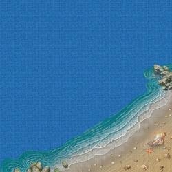 Mosaik motiv - The beach
