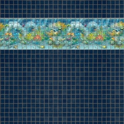 Mosaik border - Sea life