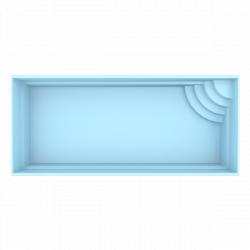 Rom glasfiberpool