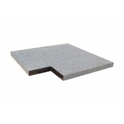 Unika (granit) kantfliser til firkantede pools
