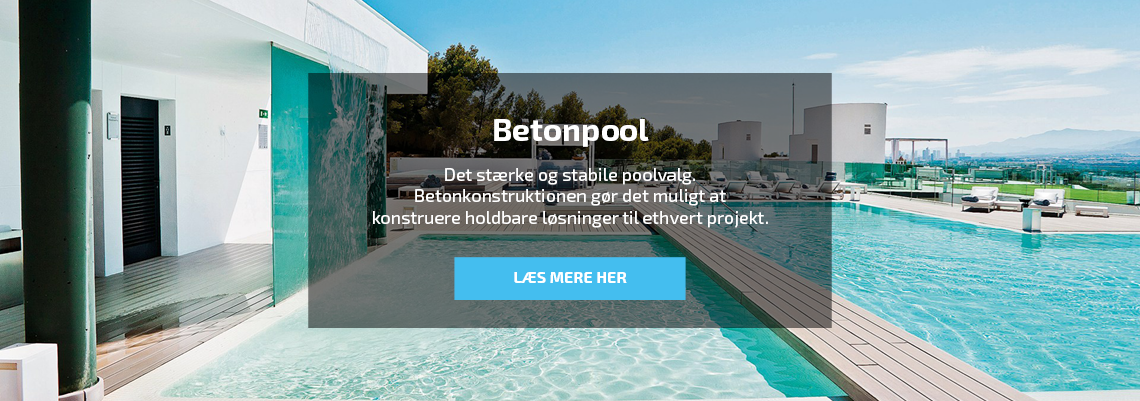 Beton swimmingpool